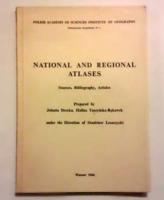National and regional atlases. Sources, bibliography, articles.