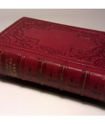 Moore Thomas: The poetical works. Il.Keeley Halswelle. (1863)