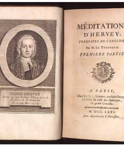 Hervey James: Meditations...