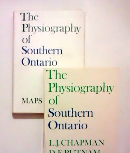 Chapman L.J., Putnam D.F.: The physiography of Southern Ontario.