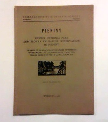 Pieniny National Park and Slovakian Nature Reservation in Pieniny. (1935)