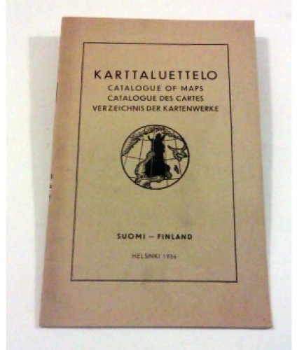 Karttaluettelo. Catalogue of maps. Suomi - Finland. (1936)