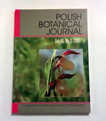 Polish Botanical Journal. Vol. 46. No 2, 2001.