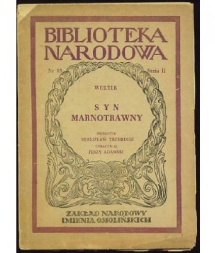 Wolter: Syn marnotrawny.